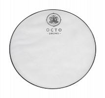 White mesh drum head,1-ply