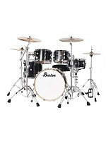 Barton - Maple (Black Satin)