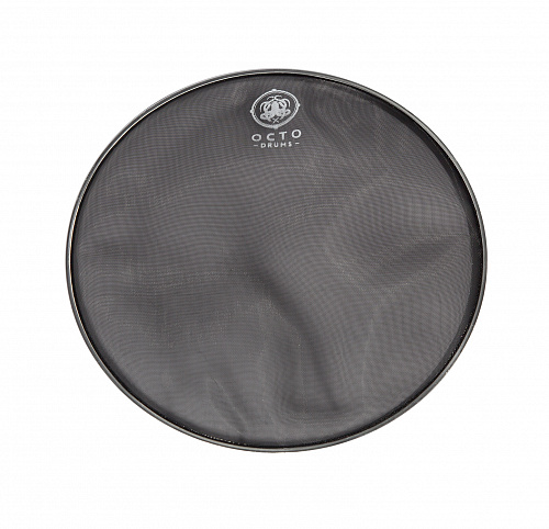Black mesh drum head,1-ply
