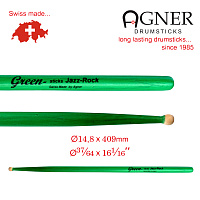 Model Jazz-Rock Green Hickory