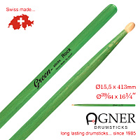 Model Rock Green Hickory
