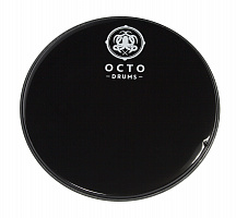 Black+clear sound controled drum head